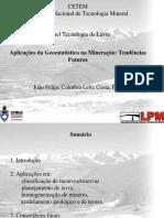 Aplicacoes Geoestat Mineracao Tendencias Futuras 2006