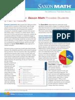 Staying Motivated - Saxon Math