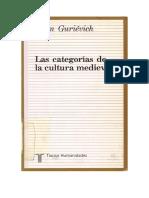 ARÓN GURIÉVICH. Las categorías de la cultura medieval.doc