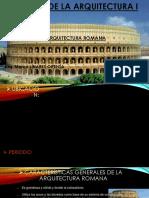 Historia de La Arquitectura l - Roma