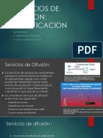 Servicios de Difusion