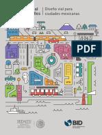 Manual de Calles. Diseño vial para ciudades mexicanas (SEDATU-BID, 2018)