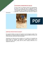 Resumen muestras de suelos