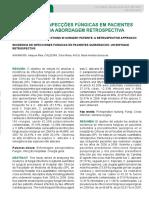 Incidência de Infecções Fúngicas Em Pacientes (2013) (1)