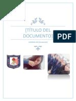Título Del Documento