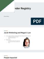 sex offender registry  1