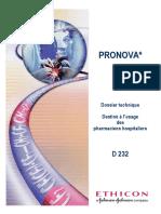 Dossier Pharmacien Pronova