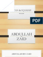 Azan & Iqamah