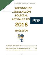 Compendio de Legislación Policial 2018 PDF 09feb18