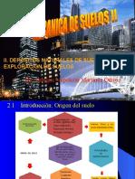 II UNIDAD EXPLORACIÓN DE SUELOS.ppt