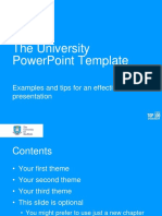 The Tuos Ppt Template Colour World 100