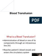4. Blood Transfusion