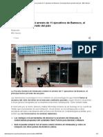 Venezuela Ordena El Arresto de 11 Ejecutivos de Banesco, El Principal Banco Privado Del País - BBC Mundo