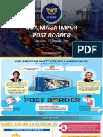 Tata Niaga Post Border Pengguna Jasa