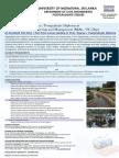 MSc PG Dip in WREM_2018 Intake - Flyer