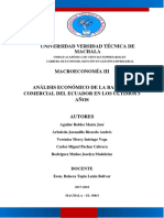 Proyecto de Macroeconomía III