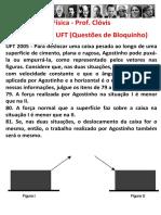 Aplicação Das Leis de Newton - Questões de Dinâmica Na UFT