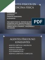 Agentes Fisicos en Medicina Fisica