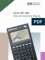 instrucciones calculadora cientifica Hewlett Packard HP48G