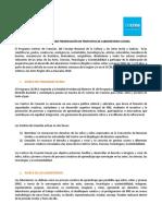 Convocatoria Para Presentación de Propuetas de Laboratorios Cecrea Vf