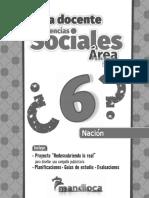 Guia Docente Area Funcional Planteo Sociales 6