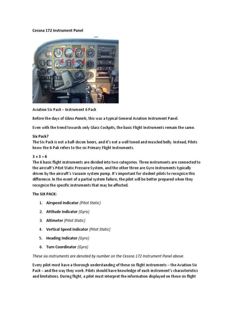 Cessna 172 Instrument Panel | Altimeter | Spaceflight Technologies
