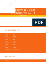 Presentasi kasus APENDISITIS.pptx
