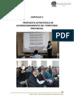 Capitulo 5 Propuestas Para El Acondicionamiento Territorial de La Provincia de Trujillo