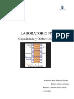 Lab 2 Capacitancia y Dielectricos