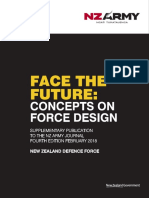 Face the Future Concepts of Force Design
