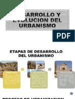 Desarrollo y Evolucion Del Urbanismo 1