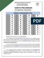 Gabarito Preliminar - Colatina Es