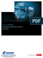 Industrial Performance Motors Catalogue
