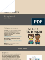 storyboard template for math talks
