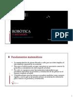 ROB - Fundamentos Matematicos