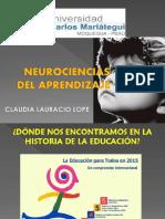 Neurociencias Del Aprendizaje Clase 1