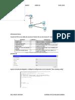 Practica 6 Establecer la configuración global de los dispositivos siguiendo procedimiento, para realizar el ruteo y conmutación de las redes de datos.