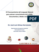 Jose Luis Ochoa Procesamientolenguajenatural