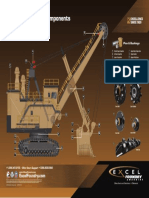 Bucyrus Shovel Component Call Out Poster EXPRI192 REV2.5 MINI E