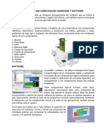 Partes de Una Computadora Hardware y Software