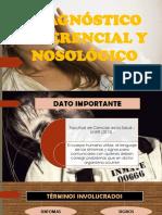 Dx Diferencial y Nosologico