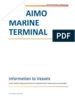 Nanaimo Terminal - Marine Manual MARCH 2015