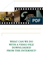 Presentation- Video in Classroom