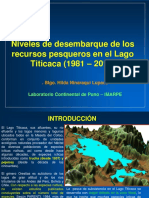Pesqueria Artesanal en El Lago Titicaca 2017