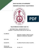 Informe Final Laboratorio Nº 01