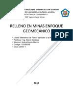 Relleno en Minas_Enfoque geomecánico