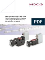 Valvula Proporcional Série d633 e d634