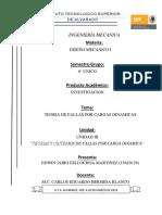 UNIDAD III-Teoria y Criterio de Fallas Por Carga Dinamicas