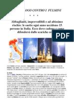 Aeticolo Il Decalogo Contro i Fulmini, PDF