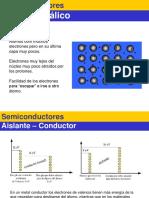 Semiconductores i Diodos